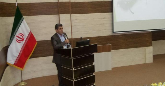 سخنرانی علمی مدیر شرکت خدمات حمایتی استان گیلان