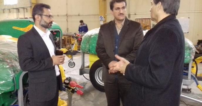 حضور فعال مهندس بحیرائی مجری طرح فروش وکالتی ماشین های کشاورزی در همایش و بازدید از شرکت مزرعه مدرن ایرانیان، استان گلستان