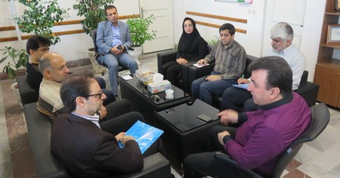 جلسه ی هماهنگی باشگاه کشاورزان در استان مازندران