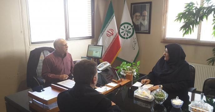 مصاحبه مدیر شرکت خدمات حمایتی کشاورزی استان خراسان رضوی