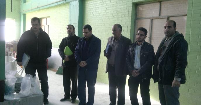 بازدید در معیت کمیته نظارت، بازرسی و کنترل کیفی کود استان قم