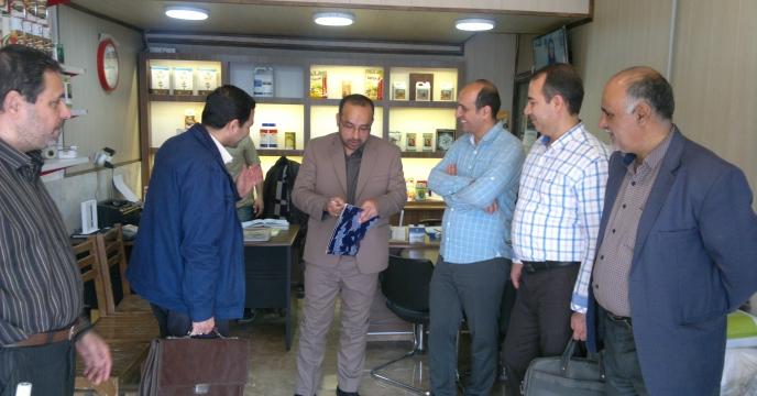 بازرسی و کنترل کیفی مواد کودی استان قم