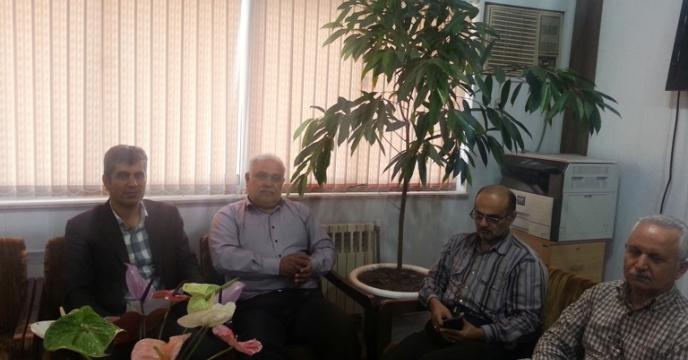 برگزاری جلسه در دفتر معاونت بهبود سازمان جهاد کشاورزی استان گیلان