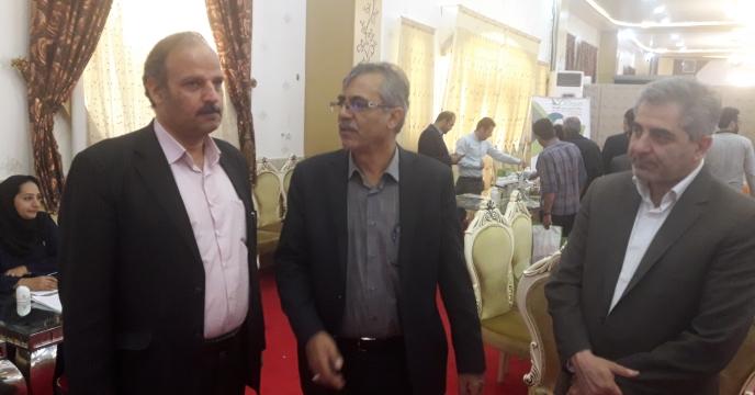 بازدید مدیر روابط عمومی سازمان جهاد کشاورزی استان از همایش اموزشی ترویجی استان اصفهان
