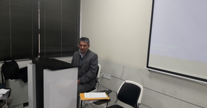 حضور مدیر فنی و بهبود کیفیت کود و مواد دفع افات گیاهی در دوره اموزش استان اصفهان