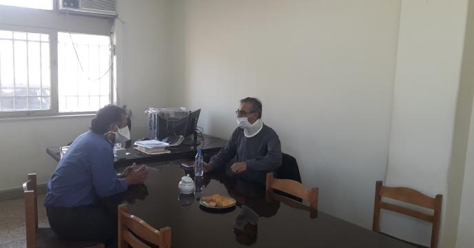 برگزاری جلسه هم اندیشی مدیر شرکت خدمات حمایتی استان اصفهان باسرپرست انبارهای مجتمع بذر استان