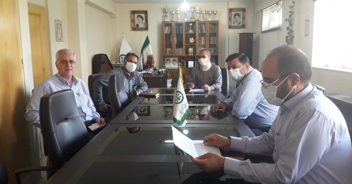 حضور مدیر زراعت سازمان جهاد کشاورزی استان اصفهان در جلسه نظارت و کنترل فرایند توزیع کود