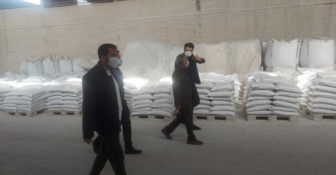 بازدید مدیر شرکت خدمات حمایتی کشاورزی استان بوشهر  از کارخانه تولید کود فسفاته ارکان شیمی جنوب