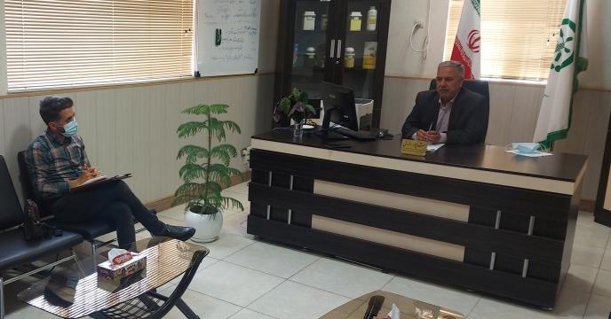 مصاحبه مدیر شرکت خدمات حمایتی کشاورزی استان بوشهر با خبرگزاری ایرنا