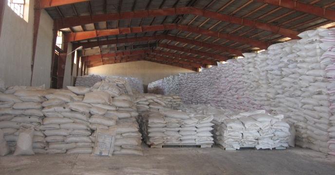 کود توزیع شده در شهرستان مهران