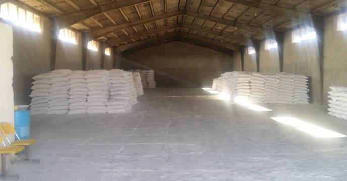 توزیع کود فسفاته  در شهرستان دهلران