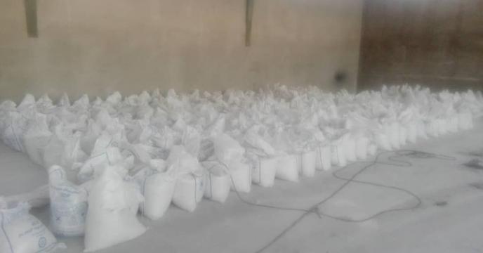 کیسه گیری 1452 تن انواع کودهای فله در شهریور ماه سال جاری