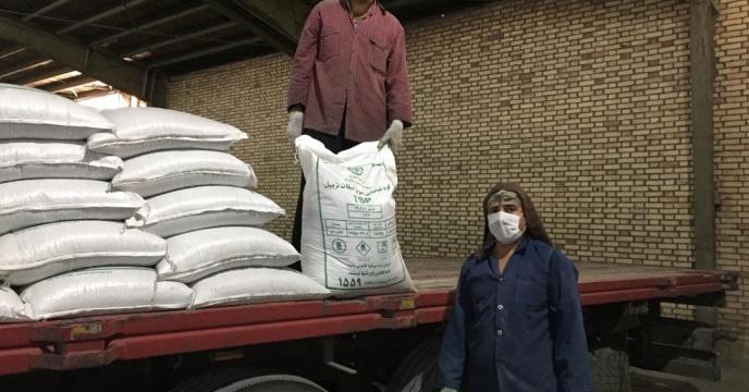 تامین و ارسال 20 تن کود سوپر فسفات تریپل به شهرستان بوکان