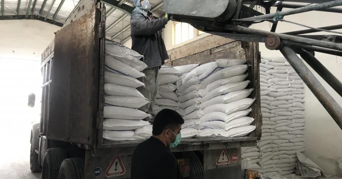 تامین و ارسال مقدار 25 تن کود اوره به شهرستان  سردشت