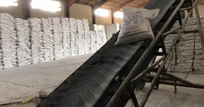 تامبن و ارسال مقدار 5 تن کود سولفات پتاسیم به شهرستان مهاباد