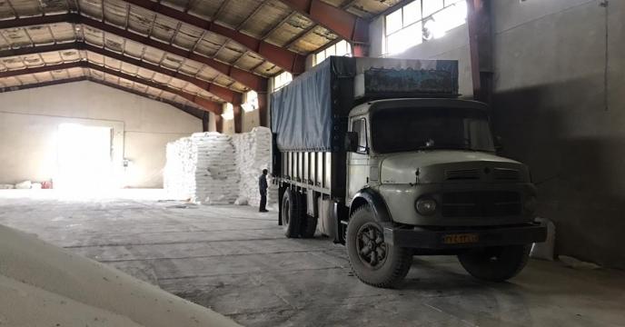 تامبن و ارسال مقدار 5 تن کود سولفات پتاسیم  به شهرستان میاندوآب