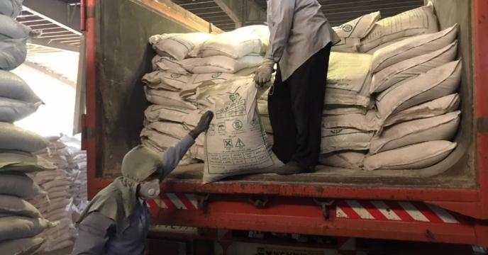 تخلیه مقدار 125 تن کود فسفات 13 درصد در انبار استان آذربایجان غربی