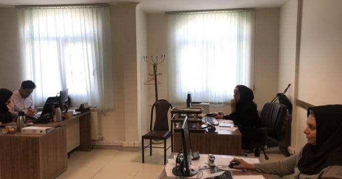 جلسه رسیدگی به اسناد  بیمه شرکت خدمات حمایتی کشاورزی استان قزوین