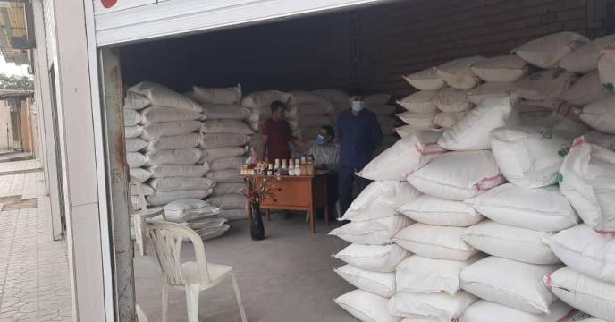 بازدید مدیر شرکت خدمات حمایتی کشاورزی استان ایلام از انبار سازمانی مهران