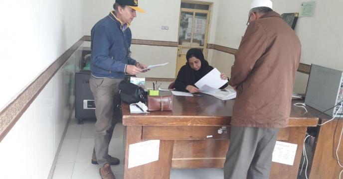 بازدید دوره ای از کارگزاری های کود شهرستان گمیشان در گلستان