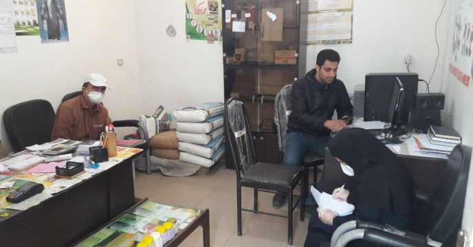 بازدید از انبار کارگزاری کود در شهرستان علی آباد استان گلستان