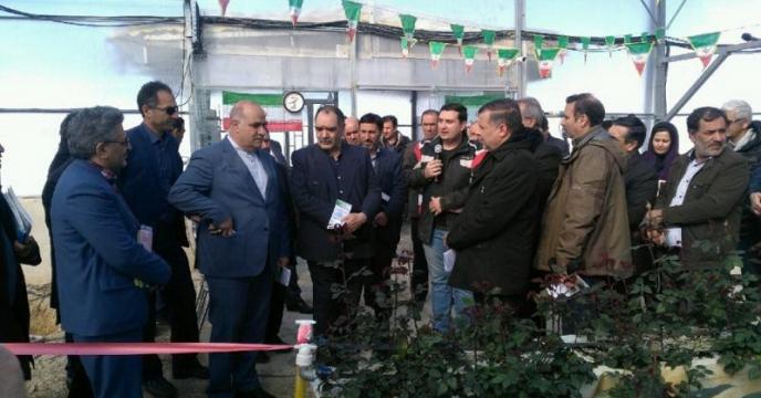 بازدید مهندس طهماسبی معاون امور باغبانی وزیر جهاد کشاورزی از استان خراسان شمالی