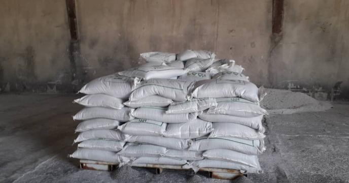 کود نیترات آمونیم توزیع شده در شهرستان سرابله