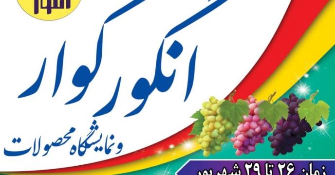 حضور معاون وزیر کشاورزی در آیین برداشت انگور شهرستان کوار استان فارس