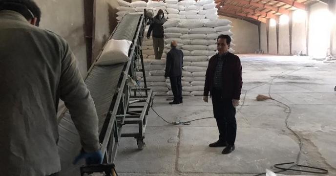 بازدید مدیر و معاونت شرکت خدمات حمایتی از فعالیت انبار استان آذربایجان غربی