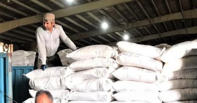 تامبن و ارسال مقدار25 تن کود نیترات سولفات آمونیم  به شهرستان پلدشت
