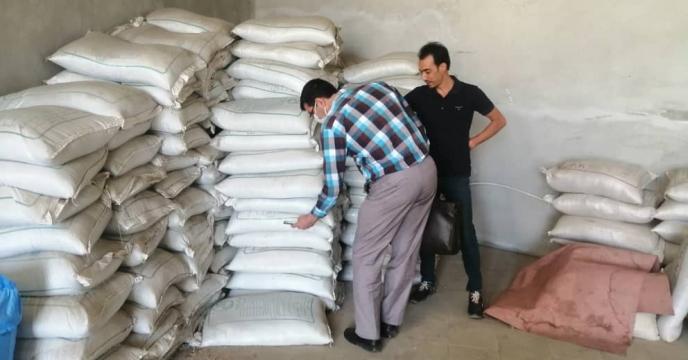 موجودی برداری از انبارهای کارگزاران شهرستان ارومیه