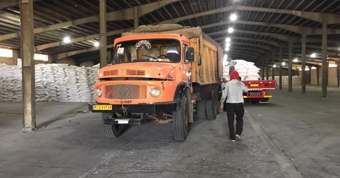 تامبن و ارسال مقدار 25 تن کود اوره  به شهرستان ارومیه