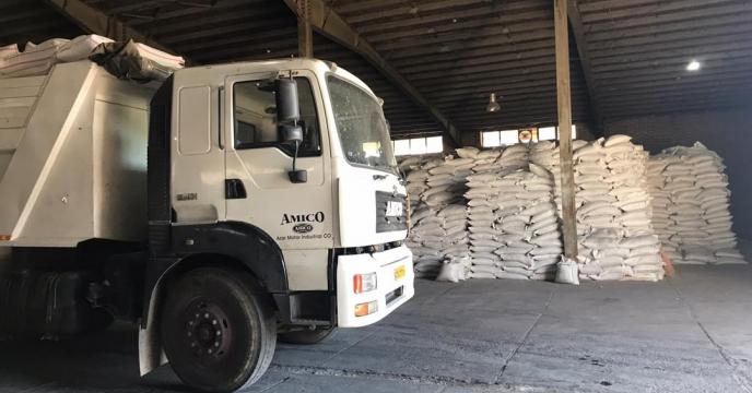 تامین و ارسال مقدار 15 تن کود سوپرفسفات تریپل به شهرستان مهاباد