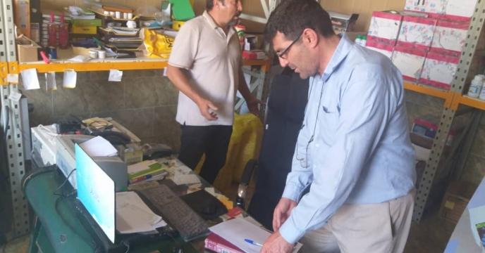 پایش کودهای شیمیایی یارانه دار در  مرکز استان  ( ارومیه )