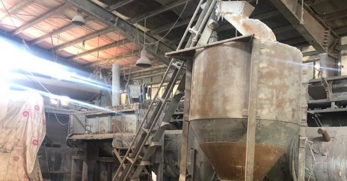 بازدید معاونت فنی استان از انبار کارخانه تولید کودهای شیمیایی آذر کیمیا اکسید درشهرستان میاندوآب