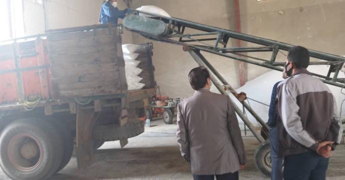 تامبن و ارسال مقدار 10 تن کود سوپر فسفات تریپل به شهرستان ارومیه