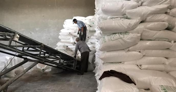 تامبن و ارسال مقدار 15 تن کود سوپر فسفات تریپل به شهرستان بوکان
