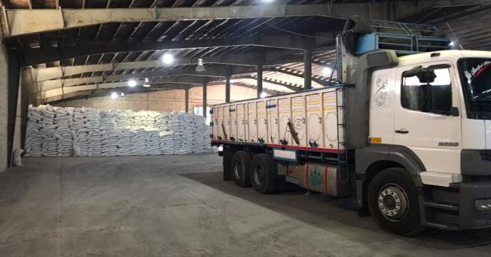 تامبن و ارسال مقدار 15 تن کود سوپر فسفات تریپل و اوره به شهرستان شوط