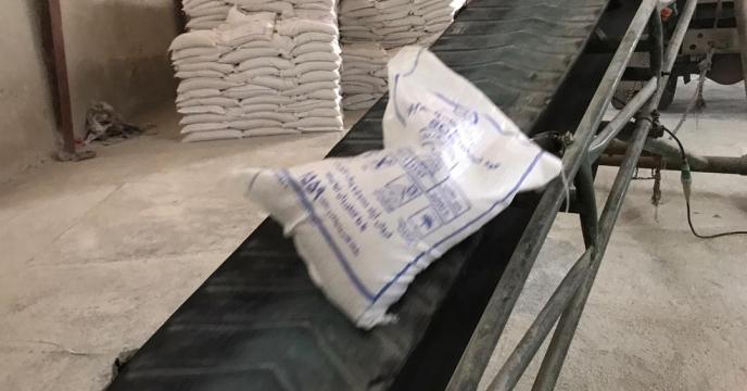 تامبن و ارسال مقدار 5 تن کود سولفات پتاسیم گرانوله به شهرستان پیرانشهر