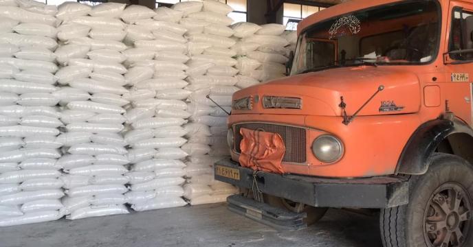 تامبن و ارسال مقدار 10 تن کود سوپر فسفات تریپل به شهرستان نقده