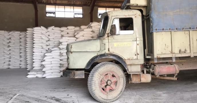 تامین و ارسال مقدار 10 تن کود سولفات پتاسیم گرانوله به شهرستان  نقده