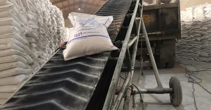 تامین و ارسال مقدار 10 تن کود سولفات پتاسیم گرانوله به شهرستان  میاندوآب