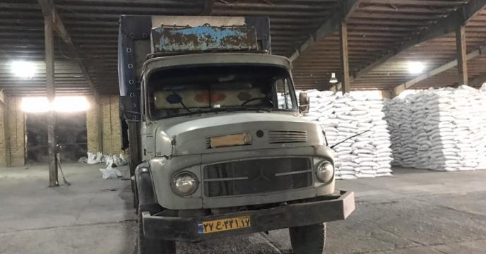 تامبن و ارسال مقدار 5 تن کود سولفات پتاسیم گرانوله  به شهرستان نقده