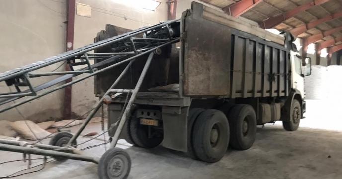 تامبن و ارسال مقدار 5 تن کود سولفات پتاسیم گرانوله  به شهرستان سلماس