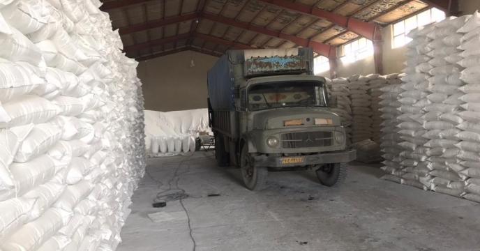تامبن و ارسال مقدار 5 تن کود سوپر فسفات تریپل به شهرستان سلماس