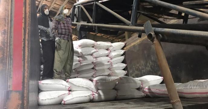 تامین و ارسال مقدار 5 تن کود سولفات پتاسیم به شهرستان ارومیه