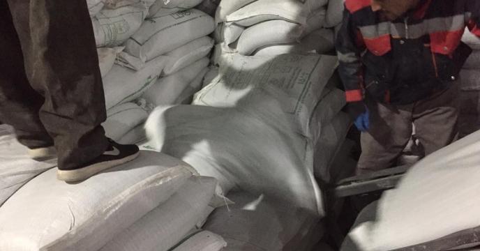 تامبن و ارسال مقدار 15 تن کود نیترات آمونیم سولفات به شهرستان میاندوآب