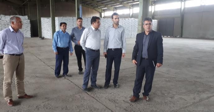بازدید از انبارکارگزاران استان اردبیل