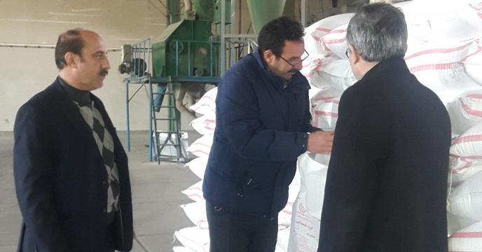 بازدید مدیر استان از انبارهای سازمانی کود