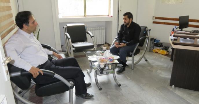 بازدید مسئول کامپیوتر و انفورماتیک ستاد مرکزی از استان مازندران